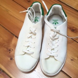 Adidas Stan Smith knit tennis shoes sneakers